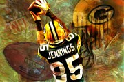 Jack Zulli - Greg Jennings 85 Green Bay Packers