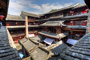 Fototrav Print - Hakka Tulou Chinese housing in Fujian...