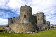 Wales Framed Prints Posters - Harlech  Castle  Wales 2 Poster by Paul Cannon