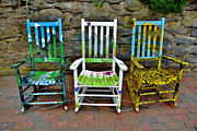 Rocking Chairs Originals - Have A Seat by Ken Johnson