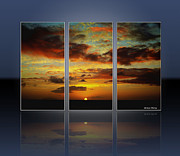 Cheryl Young - Hawaiian Sunset Triptych