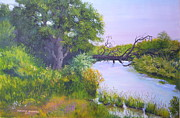 Poudre River Painting Prints - High Water Print by Raymond Schuster