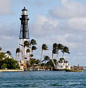 Florida House Photos - Hillsboro Inlet Lighthouse by Michelle Wiarda