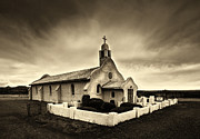 Jerry Cowart - Historic Old Adobe Spanish Style Catholic Church San Ysidro New Mexico