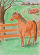Jeanette Kabat - Horse on Farm