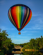 Edward Fielding - Hot Air Balloon Woodstock Vermont
