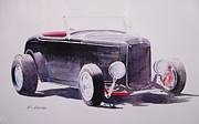 California Paintings - Hot Rod by John  Svenson