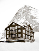 Frank Tschakert - Hotel Des Alpes And Eiger North Face
