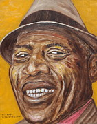 Howling Paintings - Howlin Wolf by Michael Titherington