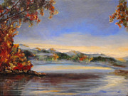 Diane Kraudelt - Hudson River Valley Morning 2