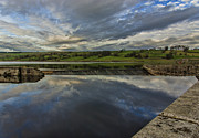 River Tees Prints - Hury Reservoir Print by Trevor Kersley