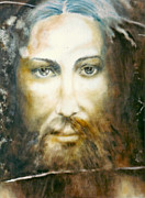 Henryk Paintings - Image of Christ by Henryk Gorecki