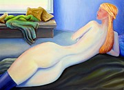 Frederick Painting Originals - Imaginations Muse by Frederick   Luff  Gallery