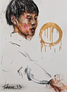 Violin Pastels - In a Slow Movement by Chia Hui Shen