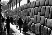 James Brunker Art - Inca street Cusco by James Brunker