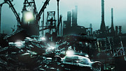 Industrial Originals - Industrial Wasteland by Bruce Sinski