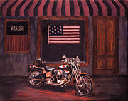 Patriotism Paintings - Inked by Barbara Sullivan