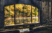 Fall Prints - Inside the Old Spring House Print by Scott Norris
