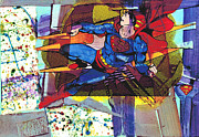 Dc Comics Originals - Is it a Lichtenstein? Is it a Pollock? by Paul Banham
