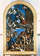 Guercino Framed Prints - Italy, Lazio, Rome, Capitoline Museums Framed Print by Everett