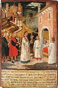 Religious Dress Framed Prints - Italy, Lombardy, Milan, San Lorenzo Framed Print by Everett