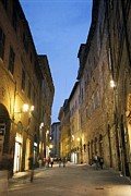 Photographies Prints - Italy. Siena. Streets Of The City Print by Everett