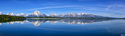 Signed Photo Prints - Jackson Lake Spring Panorama Limited Edition Print by Greg Norrell