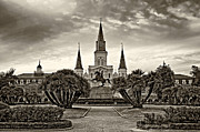 Steve Harrington - Jackson Square Evening sepia