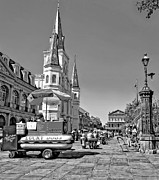 Steve Harrington - Jackson Square monochrome