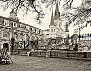 Steve Harrington - Jackson Square Winter 2 sepia