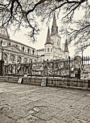 Steve Harrington - Jackson Square Winter sepia