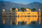 Jaipur Photos - Jal Mahal by Inge Johnsson