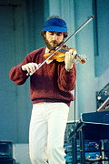 Concerts Prints - Jean Luc Ponty at The Greek Theater in Berkeley CA 1980 Print by Daniel Larsen