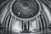 D.w Framed Prints - Jefferson Memorial Interior II Framed Print by Clarence Holmes