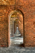 Fort Jefferson Metal Prints - Jeffersons Arches Metal Print by Marco Crupi