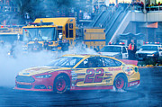 The Strip Framed Prints - Joey Logano Framed Print by James Marvin Phelps