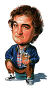 Caricature Paintings - John Belushi by Art