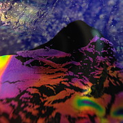 Close Up Glass Art - Journey by Gaby Tench
