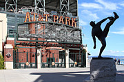 Wingsdomain Art and Photography - Juan Marichal at San Francisco ATT Park...