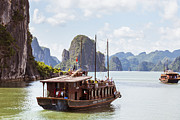 Fototrav Print - Junk on Halong Bay Vietnam