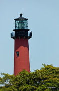 Jupiter Photos - Jupiter Inlet Florida Lighthouse by Michelle Wiarda