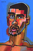 Expressionist Paintings - Just Turned 19 by Douglas Simonson