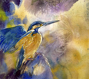 Alfred Ng - Kingfisher With Yellow