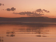 Noreen Hacohen Art - Kinneret Ripples at Dusk by Noreen HaCohen