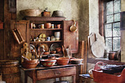 Italian Kitchen Photo Framed Prints - Kitchen - For the Master Chef  Framed Print by Mike Savad