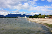 Burrard Inlet Originals - Kitsilano Beach by Gerry Bates