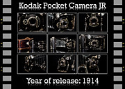 Manual Prints - Kodak pocket camera JR Print by Tommy Hammarsten