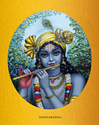 Veda Paintings - Krishna by Vrindavan Das