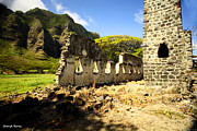 Cheryl Young - Kualoa Sugar Mill remains