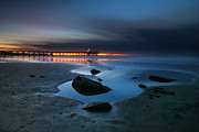 Larry Marshall Prints - La Jolla Sunset 7 Print by Larry Marshall